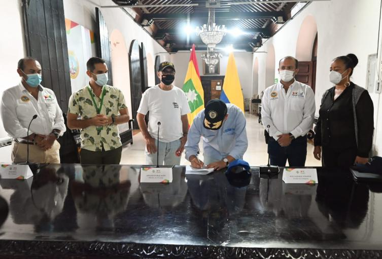 Acuerdo entre Ministerio y alcaldía para obras del Canal Campestre y Matute
