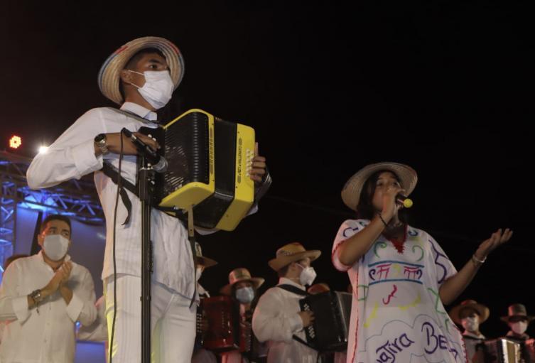 """El cierre de la conmemoración contó con un show denominado """"Oasis de Cultura"""""""