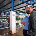 Las autoridades buscan controlar el narcotráfico en medio de cargamentos de frutas que salen por el puerto de Santa Marta