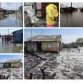 A su paso por la zona costera de Sucre:Tormenta Tropical Iota deja 137 damnificados y  siete casas afectadas en Boca Cerrada,San Onofre, Sucre