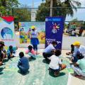 La campaña se dio en el corregimiento de Puerto Badel, Arjona