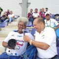 Es uno de los hinchas más representativos del Unión Magdalena