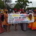 Comunidades Afro se unieron a estas movilizaciones