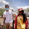 Durante dos días vigilará obras en La Guajira