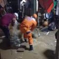 Emergencia por las lluvias en Santa Marta