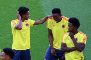 Selección Colombia. Imagen de referencia.