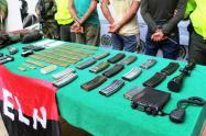 Entre los detenidos se encuentra un cabecilla, identificado con el alias de 'Pichón'.