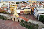 Panorámica de la ciudad de Cartagena
