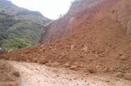 En el ultimo mes se registran 14 deslizamientos en Manaure Cesar