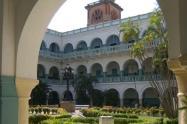 Este claustro se encuentra ubicado en el Centro Histórico de la ciudad.
