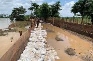 Los ríos Sinú y San Jorge siguen en alerta máxima.