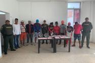 Fueron 19 en total los capturados en El Departamento de Bolìvar