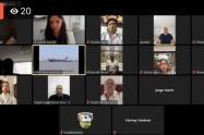 Los diputados sesionaron de manera virtual para aprobar los proyectos a la Gobernación.