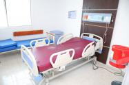 Camas en el nuevo Hospital Cari.