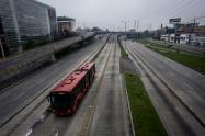 Simulacro de aislamiento en Bogotá