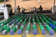 La participación de la Armada Nacional fue clave para el decomiso de la droga