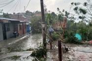 Afectaciones por lluvias