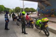 Policía, Santa Marta, Transito, Magdalena, Covid - 19