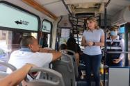 Buses, Santa Marta, Tapabocas