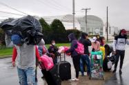 A pie desde Bogotà,viaja un grupo de Sucreños con rumbo a la Mojana