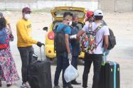 Estudiantes retornados a La Guajira