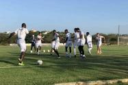 Junior entrenamiento