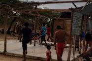Varias viviendas resultaron afectadas