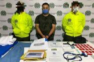 Falso mèdico fue capturado por la policìa nacional en Tolù viejo,Sucre