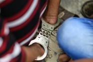 """""""La Liendra"""", presunto cabecilla de grupo criminal de Medellín fue enviado a la cárcel, por secuestro y homicidio"""