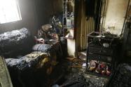 Incendió causó graves perdidas materiales