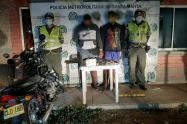 Policía, Cocaína, Motocicleta, Santa Marta, Magdalena