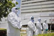 Autoridades piden ampliación de camas UCI en Cartagena, ante la pandemia