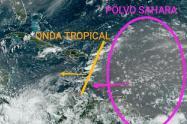 Se espera que este fin de semana se presente nueva ola del polvo del Sahara