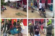 La desobediencia ciudadana se sigue presentando en municipios de Bolívar