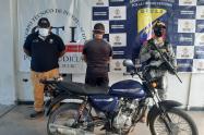 Capturado delincuente en el municipio de San Benito Abad,por parte de la Armada de Colombia y CTI