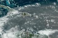 Los modelos meteorológicos muestran la presencia de la nube de polvo.