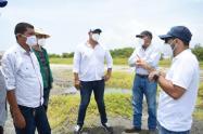 Las empresas prestadoras del servicio  y el alcalde ultiman  detalles para llevar agua a Puebloviejo