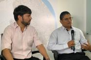 Secretario de Salud Humberto Mendoza