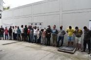 En el operativo fueron capturadas 17 personas que tenían azotada a tres departamento del caribe