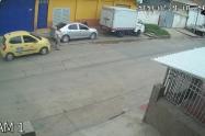 Taxi mujer arrollada