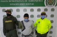 Alias Tito fue capturado por la Policía de Barranquilla.