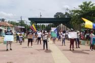 Protesta Palenque