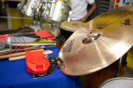 Los instrumentos eran utilizados para impartir clases a niños de escasos recursos de la ciudad.