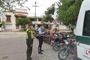 DATT y Policía Metropolitana de Cartagena