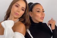 Marcela Reyes y Paola Jara