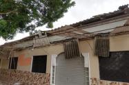 Varias viviendas resultaron destechadas.