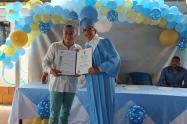 Alcalde de Turbaco se graduó de bachiller