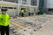 551 kilogramos de clorhidrato de cocaína