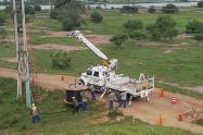 Electricaribe restableció la energía luego de 33 horas sin el fluido eléctrico en  cuatro municipios del Magdalena