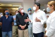 Donación de equipos médicos a poblaciones de la Costa